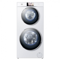 Haier-washing machine-8+4kg-Duo Drum/white