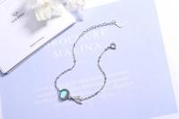 Mermaid Tail 925 Sterling Silver Bracelet