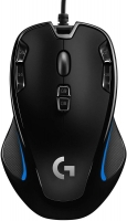 Logitech G300s Optical Ambidextrous Gaming Mouse – 9 Programmable Buttons, Onboard Memory from Game Stop