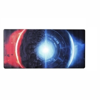 JEDEL MP-02 INVADE GAMING MOUSE PAD, HEAVY WEAVE FABRIC