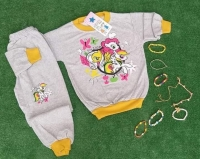 Pajamas for children from Turkish two pieces