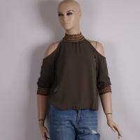 Woman's Olive Shirt - Julie Moda