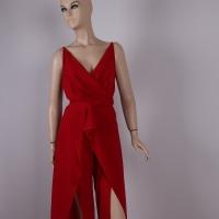 Women's red jumpsuit - Julie Moda