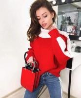 Women's winter sweatshirt - Julie Moda