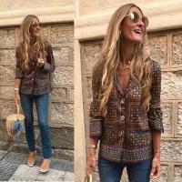 Women's Colored Long Radan Shirt - Julie Moda