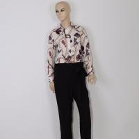 Women's White Plaid Shirt - Julie Moda