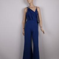 Sleeveless jumpsuit with wide feet for women - Julie Moda