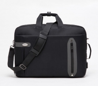 Laptop bag with USB port and headphone
