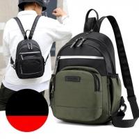 Multipurpose Backpack (Black, Indigo, Green)