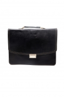 Leather diplomatic bag
