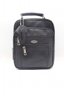 Travel bag + documents leather