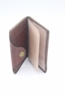 Leather bag wallet