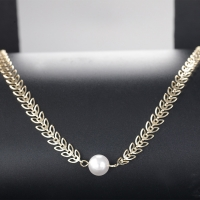 Women's Necklace Gold Lulu Necklace - from ILAHUI
