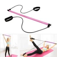 Pilates stick pink color