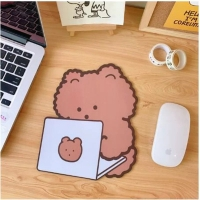 Mouse Pad  bear shape