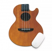 Mouse pad guitar