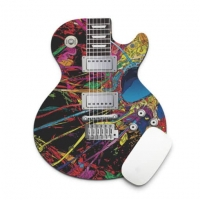 Colorful guitar pad mouse