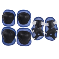 Knee, elbow and wrist pad, blue color