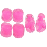 Knee pad, elbow and wrist pink color