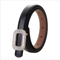 Elegant leather women belt
