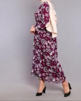 A women's dress with a distinctive design