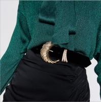 Leather women belt