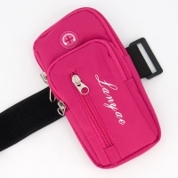 Arm bag, dark pink color