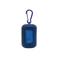 Portable towel, blue color