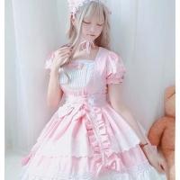 Lolita Anime Maid Cosplay Costume