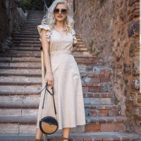 Summer Midi Dress for Women - Julie Moda