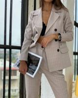 Beige set for women - Julie Moda