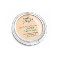 Powder face matt anti-bacterial