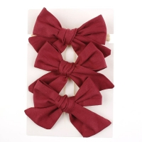 Set Hair Pin Two Pieces With Elastic Hair Bond