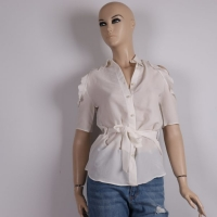 Women's White Shirt - Julie Moda