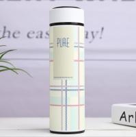 Water bottle, beige color