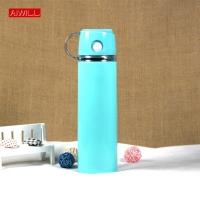 Water bottle, heat preservation, blue color