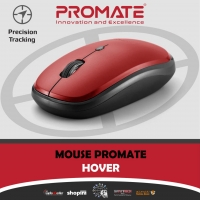 Promate Wireless Mouse Hover RED