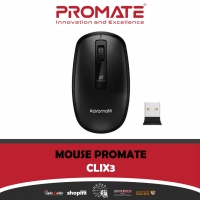 Promate Clix-3 Wireless Optical Mouse With Precision Scrolling