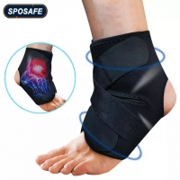 Black ankle support