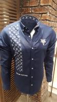 Men's shirt with a distinctive design