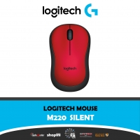 Logitech M220 Silent Mouse, Wireless