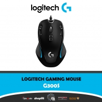 Logitech G300s Optical Ambidextrous Gaming Mouse – 9 Programmable Buttons, Onboard Memory