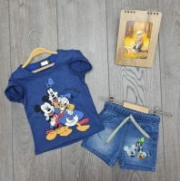 A two-piece set for boys