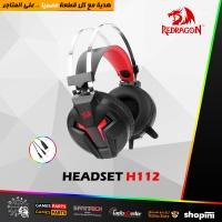 High Sensitivity Microphone Redragon H112 Breathing Backlight Gaming Headset