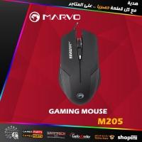 Marvo Scorpion Thunder M205 Gaming Mouse Black