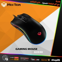 MEETiON Tracking Gaming Mouse Hera G3330