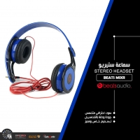 Wireless With Microphone Beats Mixr Head Phone BLUE