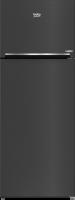 Beko refrigerator - 22 feet - metallic color