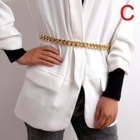 Chain belt for women