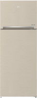 Beko refrigerator - 22 feet - beige color